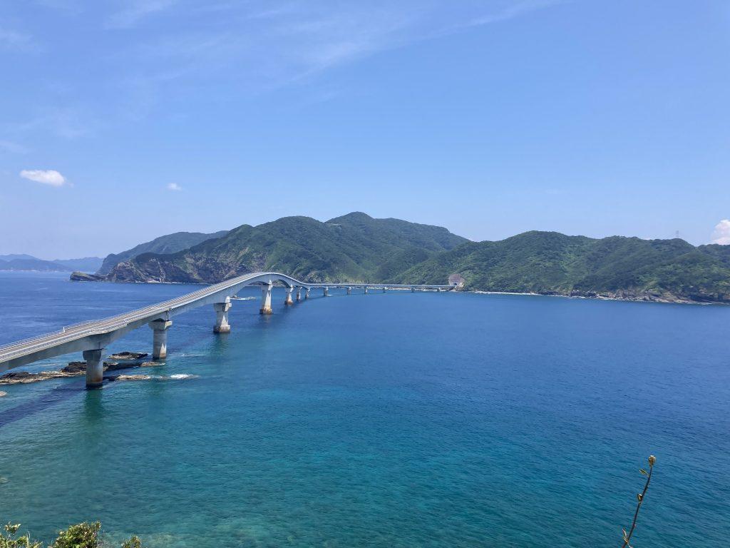 甑島 甑大橋