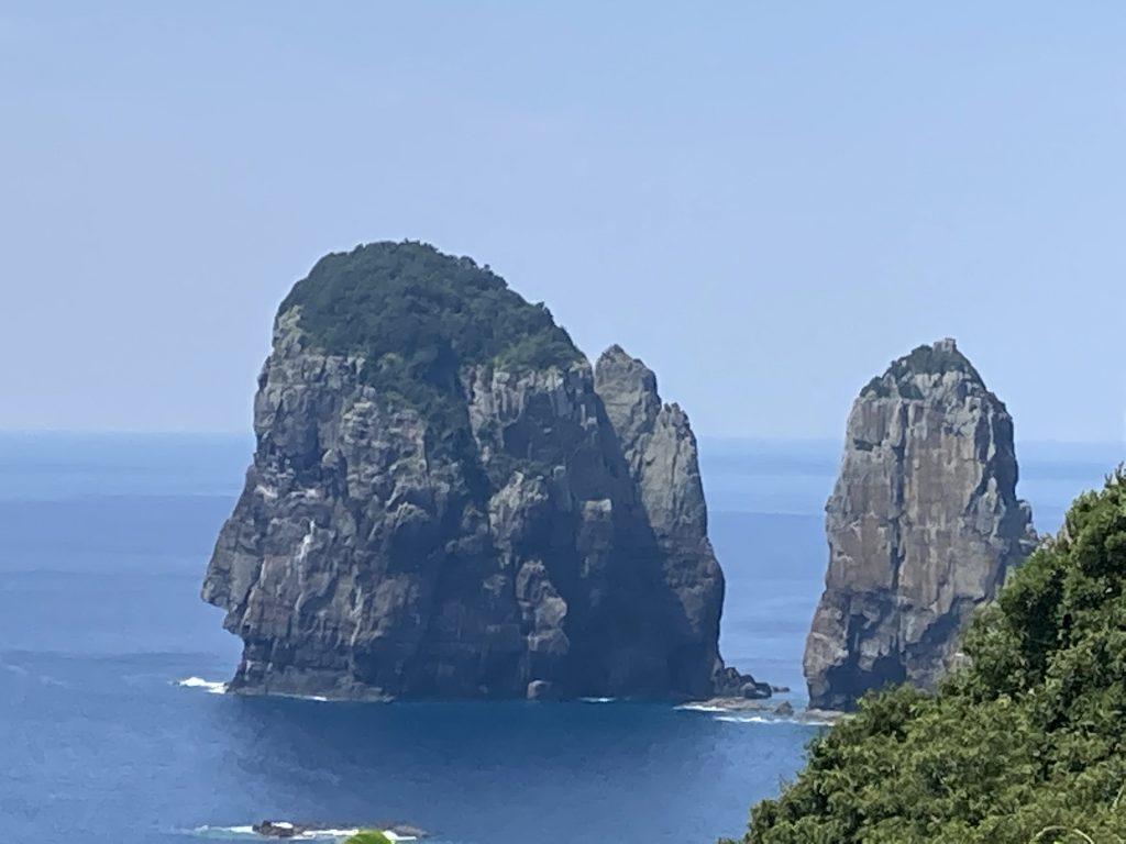 甑島 ナポレオン岩