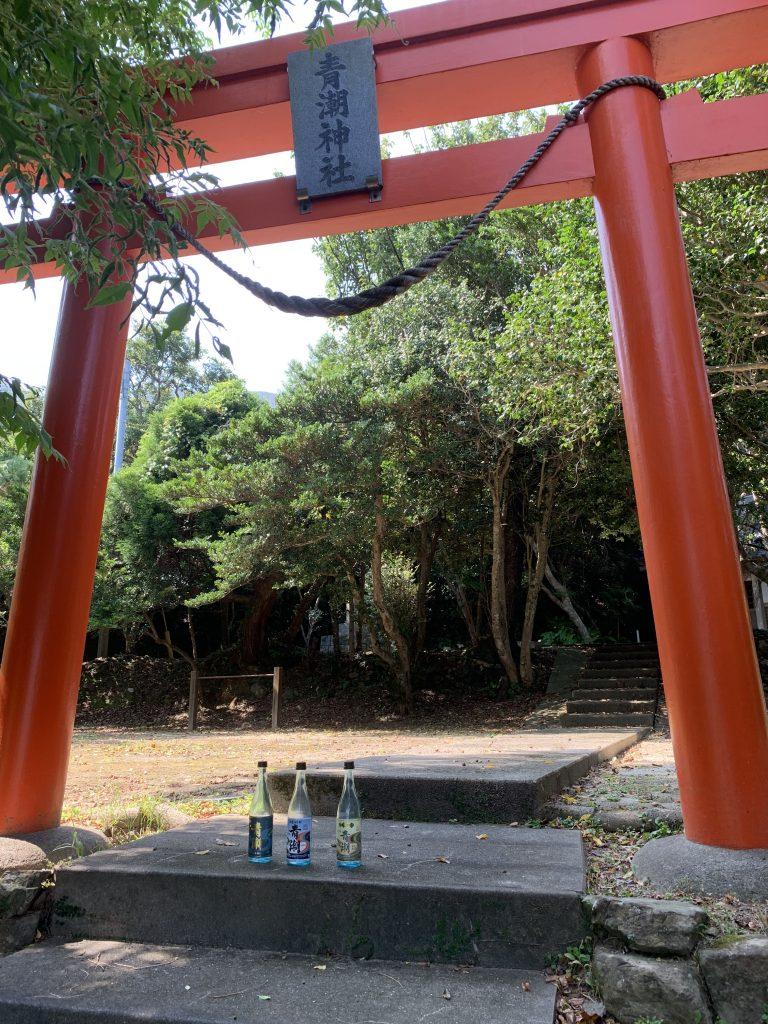 甑島 青潮神社鳥居